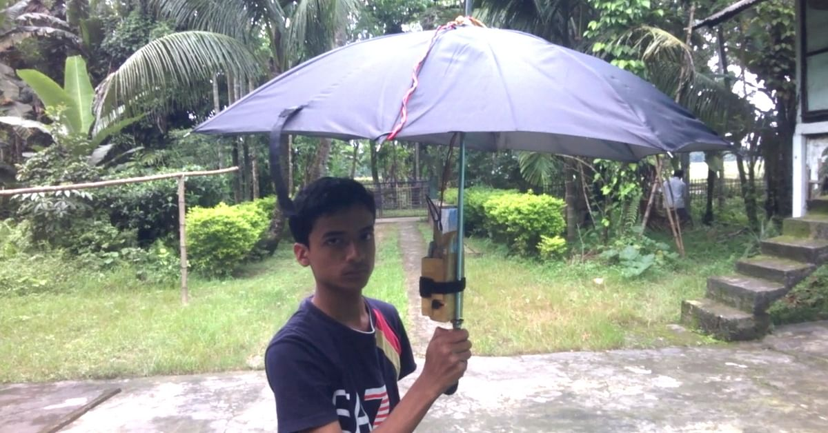 Why People in an Assam Village Are Using Umbrellas to Find Their Way in the Dark