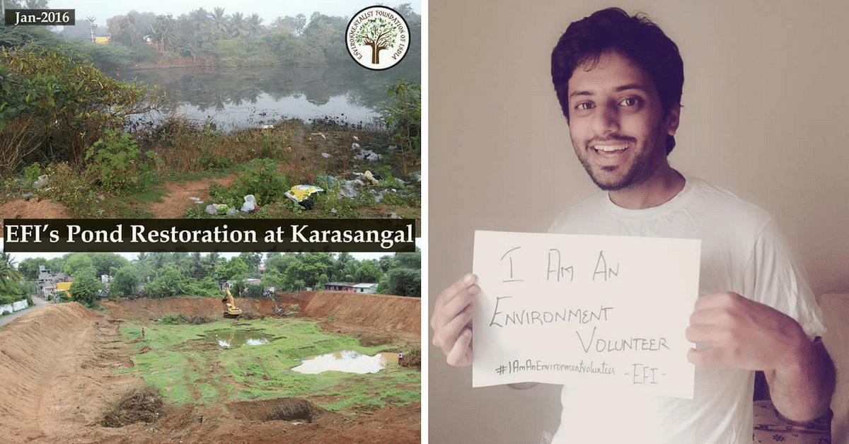 This Organisation Has Restored 39 Lakes in 10 Years. This Year, You Can Help Them Fight Drought!