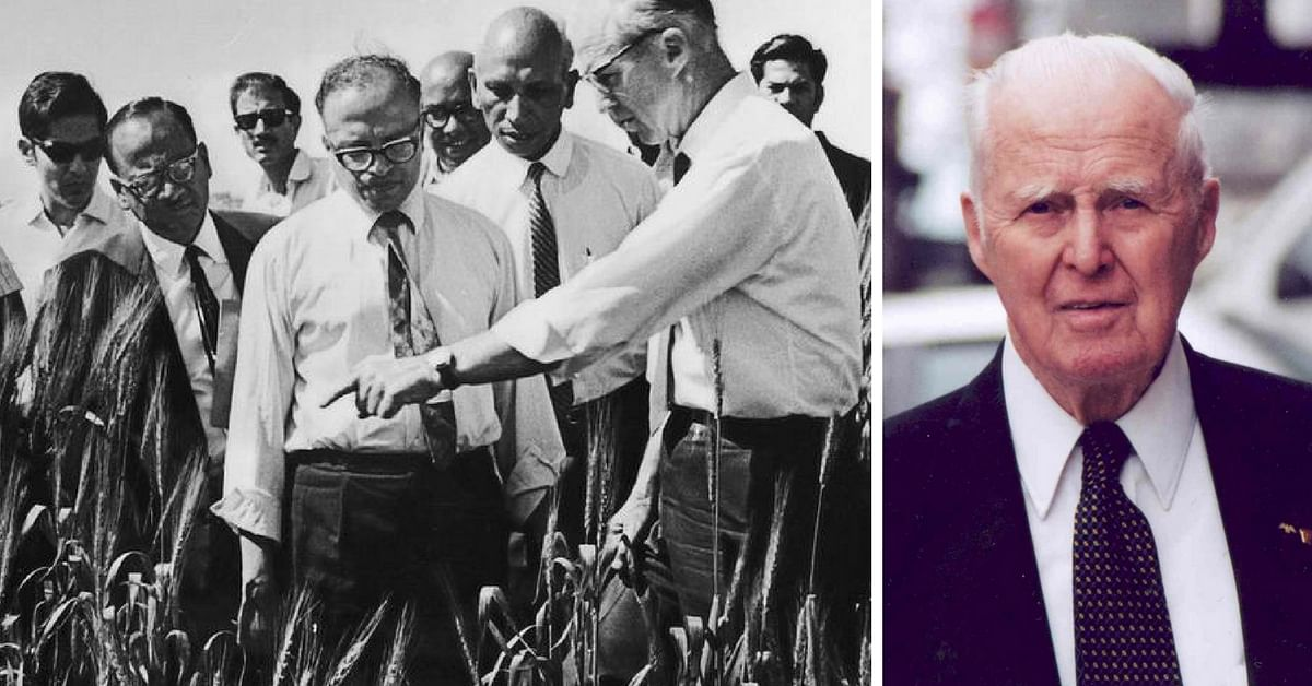 The Story of Norman Borlaug, the American Scientist Who Helped Engineer India's Green Revolution