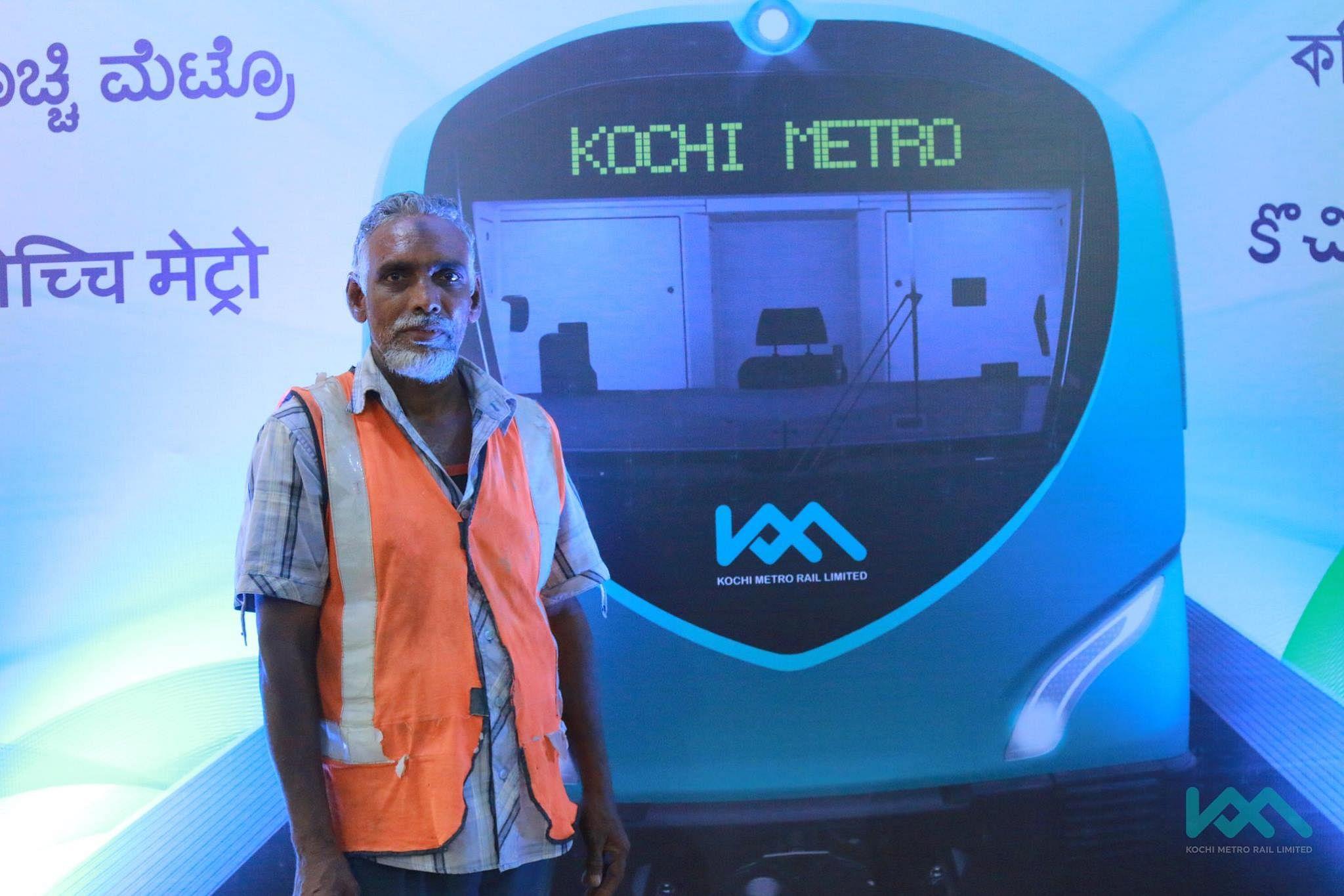 Kochi-metro-workers-sadhya-meal