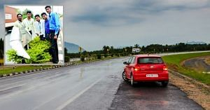 Bengaluru engineering students want to light up the city using highway wind turbulence