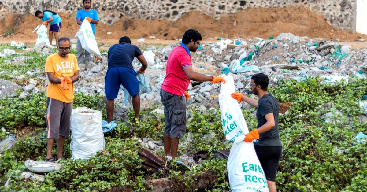 Every Year, 6,000 People Come Together to Clean Chennai's Beaches, Thanks to This Group