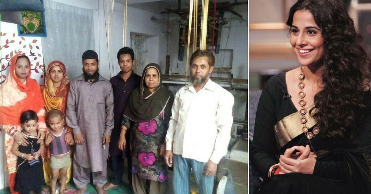 How a Poor Handloom Weaver Created the Famous 'Afroza Pattern' Sarees That Draped Vidya Balan