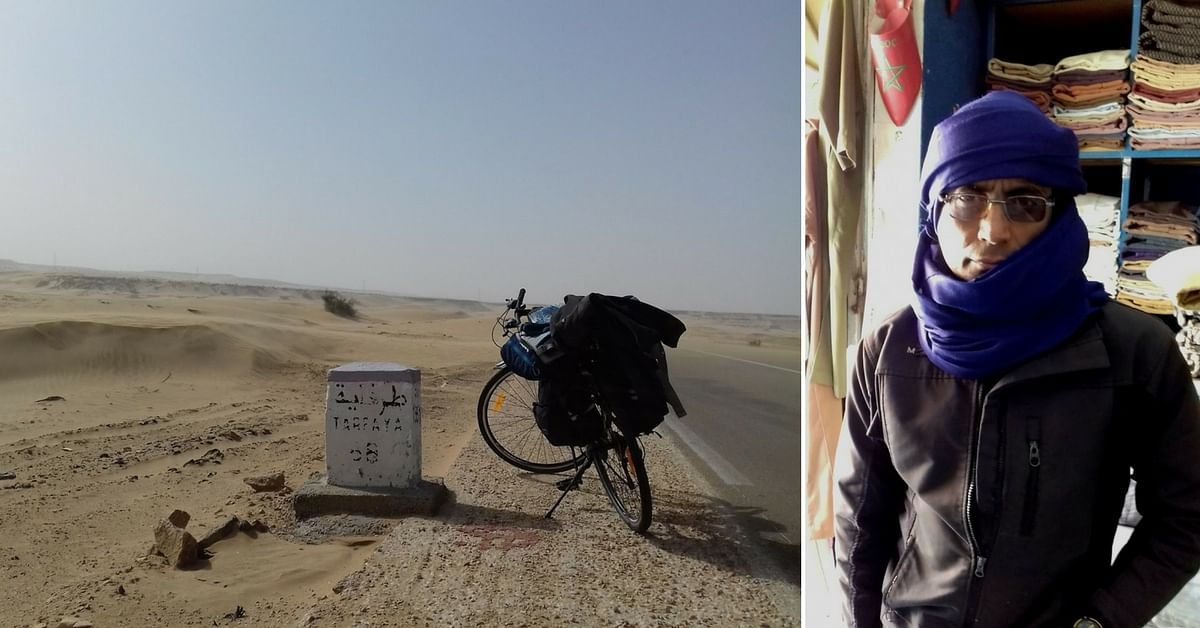 How I Became the First Indian to Cycle 2,300 Km Across the Sahara – Red Tape, Landmines, & All!
