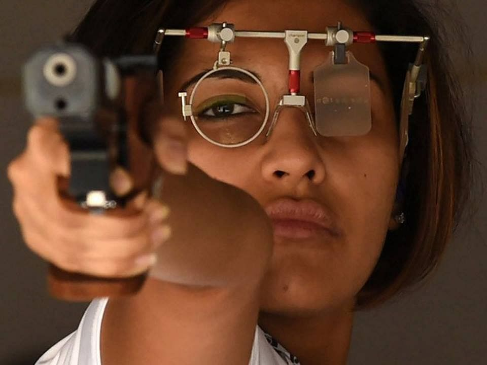 Heena-Sidhu-Shooter-World-Champion-Gold