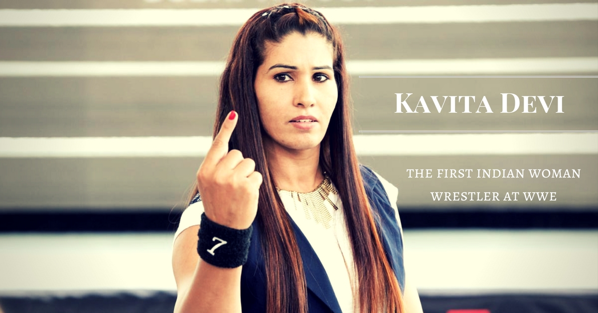 Kavita Devi- first woman wrestler at WWE