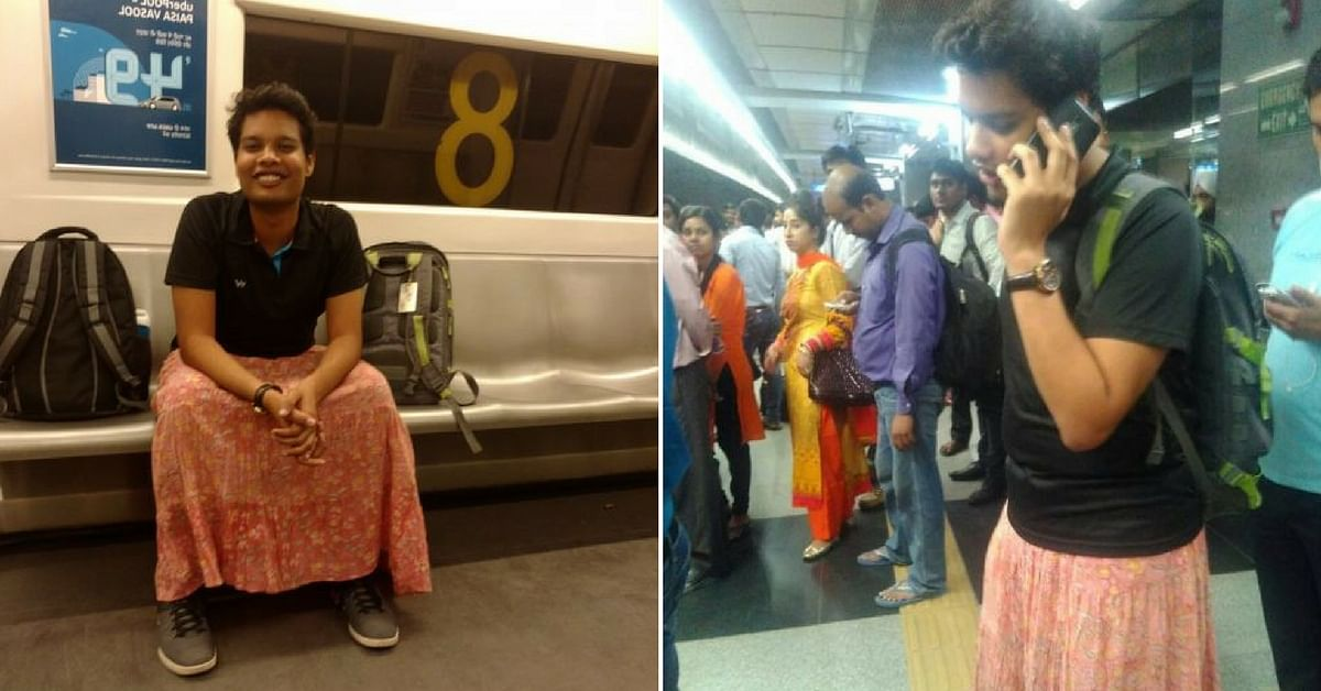 TBI Blogs: What Happens When an Indian Heterosexual Male Wears a Skirt in Public? This Man Found Out