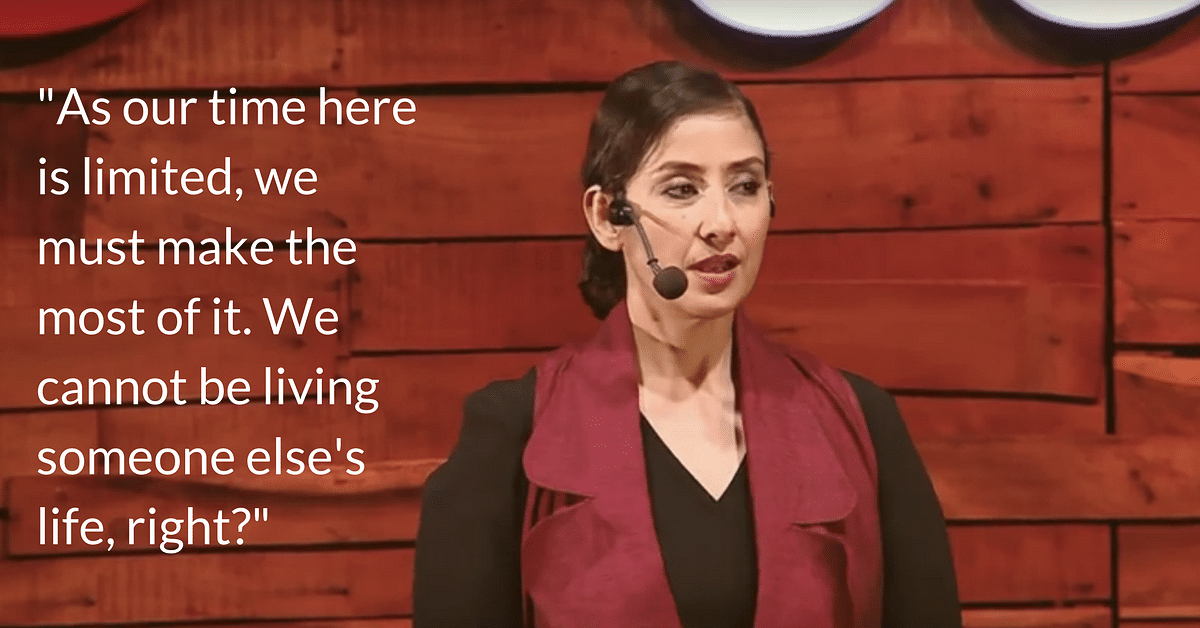 Rise, Fall, Rock Bottom & Back: Watch Manisha Koirala's Powerful Talk on Taking Control of Her Life