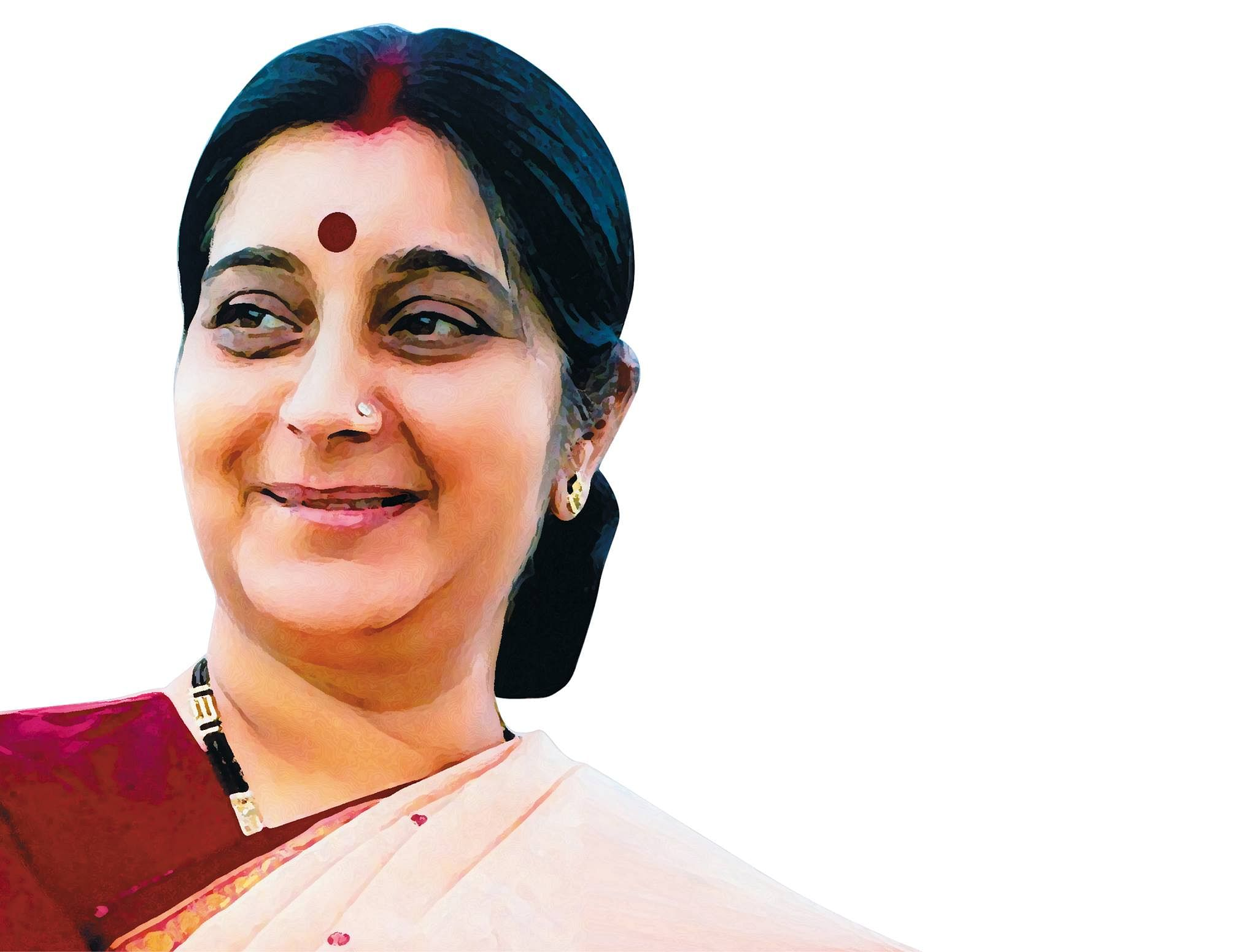Sushma-Swaraj-Presidential elections-india