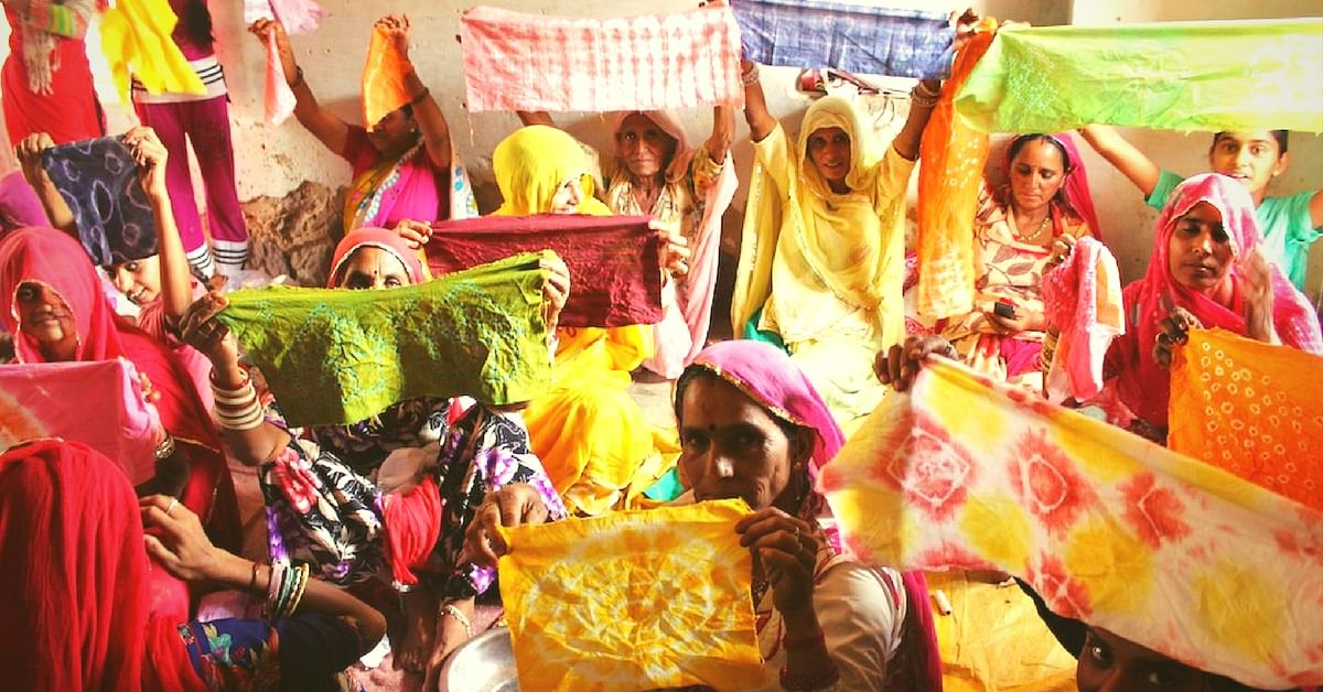 How Tie-And-Dye Classes Are Adding Colour to the Lives of Rural Women in Rajasthan