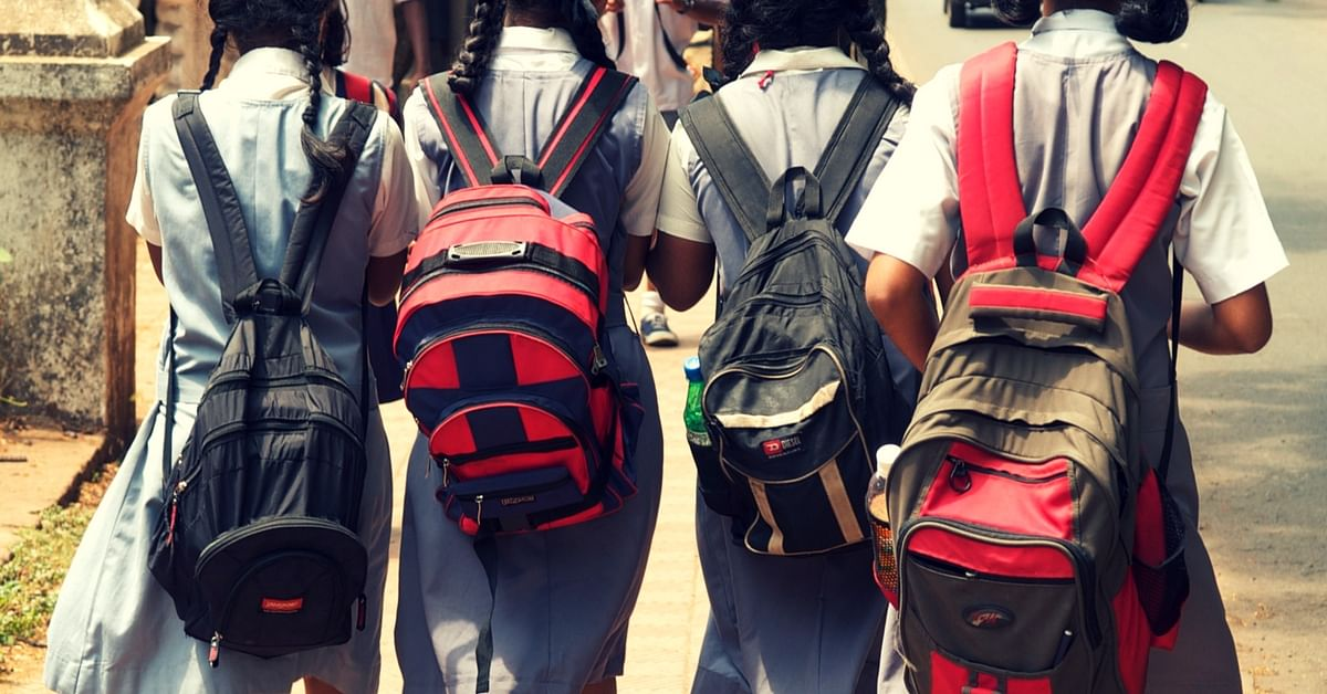 In Kerala, Kids Walk Light to This School, Their Heavy Bags Get a Ride!
