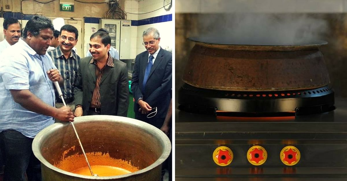 This I-T Officer's Stove Cuts Fuel Use by 70%, and the Chefs at Rashtrapati Bhavan Love It Too!
