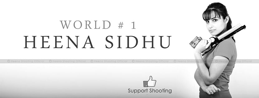 Heena- Sidhu- Shooter- World- Champion- Gold