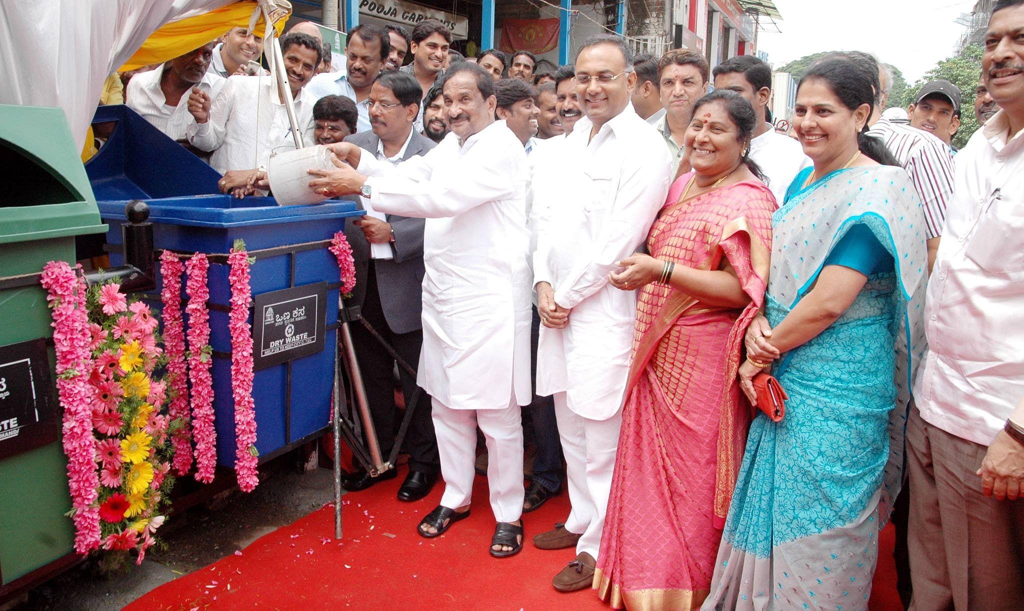 garbage-bins-Bengaluru- comeback- 17-yrs-later