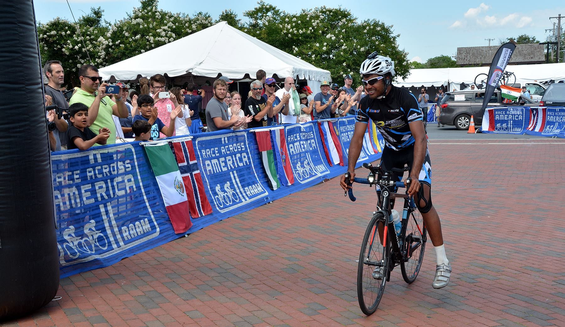 srinivas gokulnath-Race across- America-
