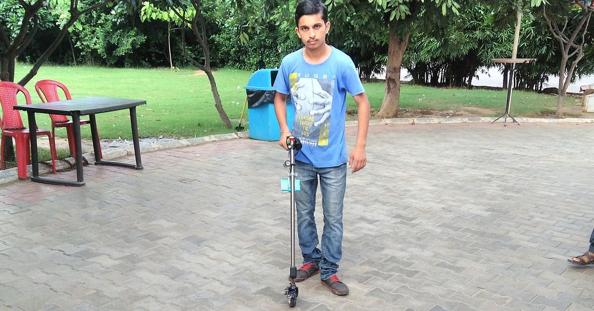 A Walking Stick That Charges a Phone & Lights Your Way, This UP Teen's Innovation Is a Wonder!