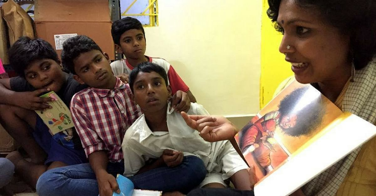 This Bengaluru Library With Over 2,000 Books Is Creating a Safe Space for Kids of Ragpickers