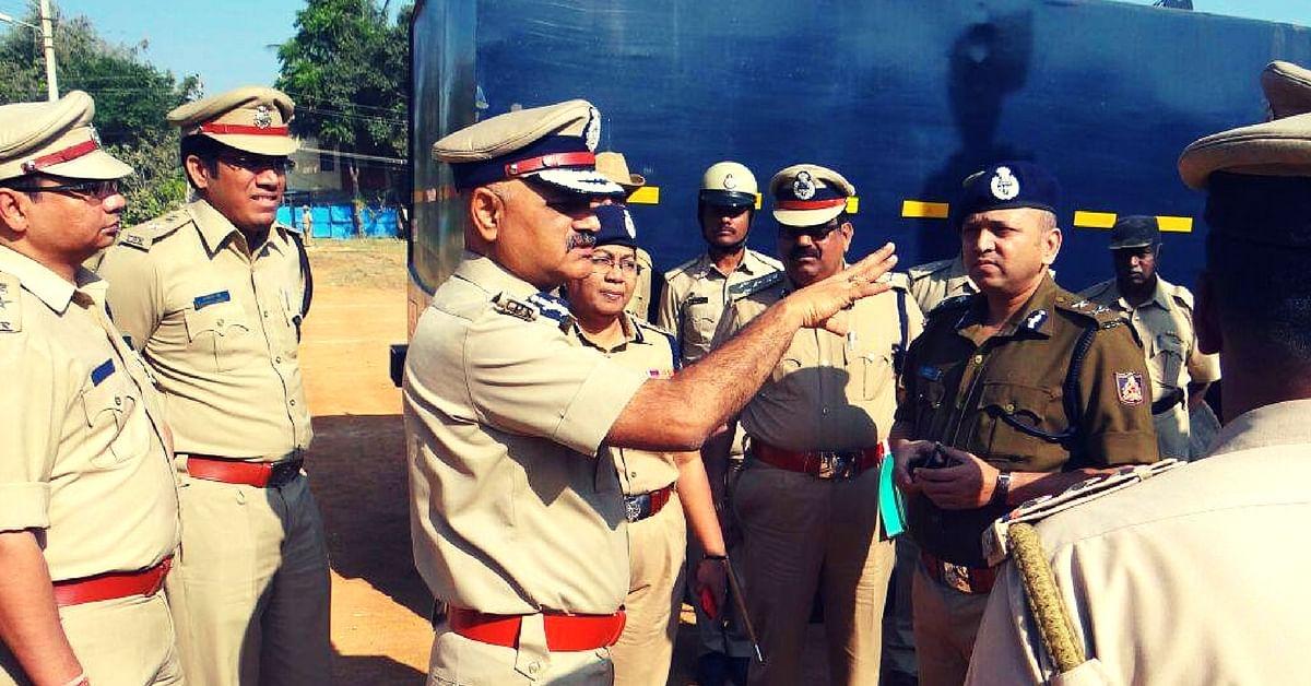 From Lathi to the Shovel – Karnataka Cops Take to Gardening to Relieve Stress