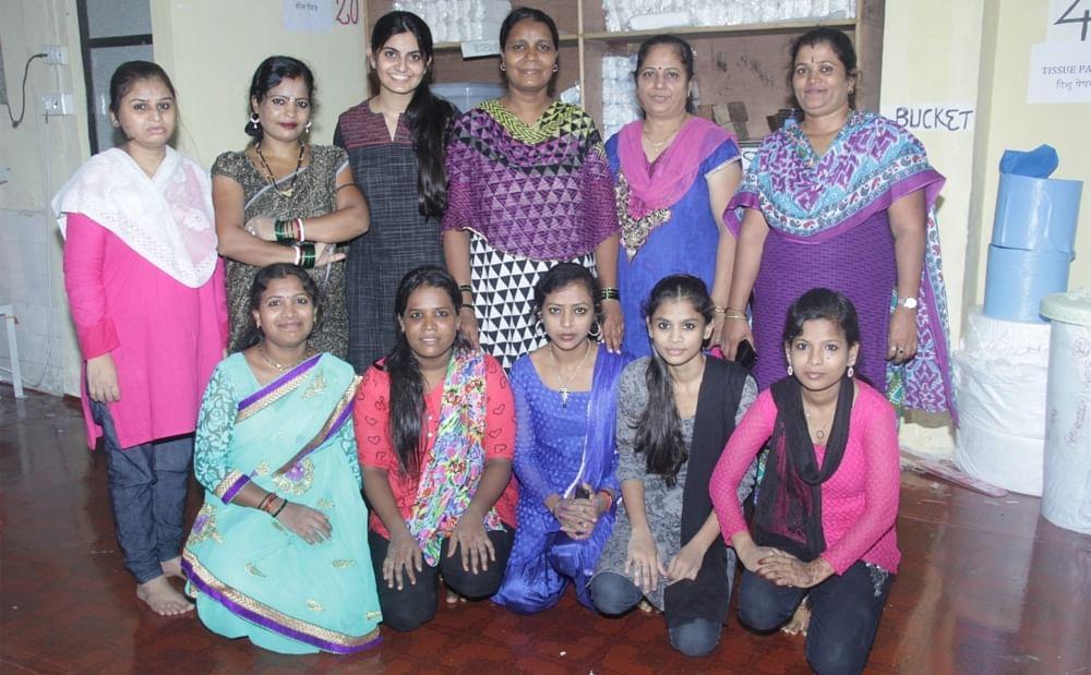 Myna Milan Foundation-sanitary pad manufacturing unit