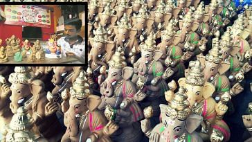 Nilesh Tupe Nerul- ganeshotsav eco-friendly ganpati idols- manure