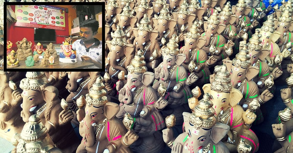 Want to Go Green This Ganeshotsav? Head to Nerul for Idols That Can Later Be Used as Manure!