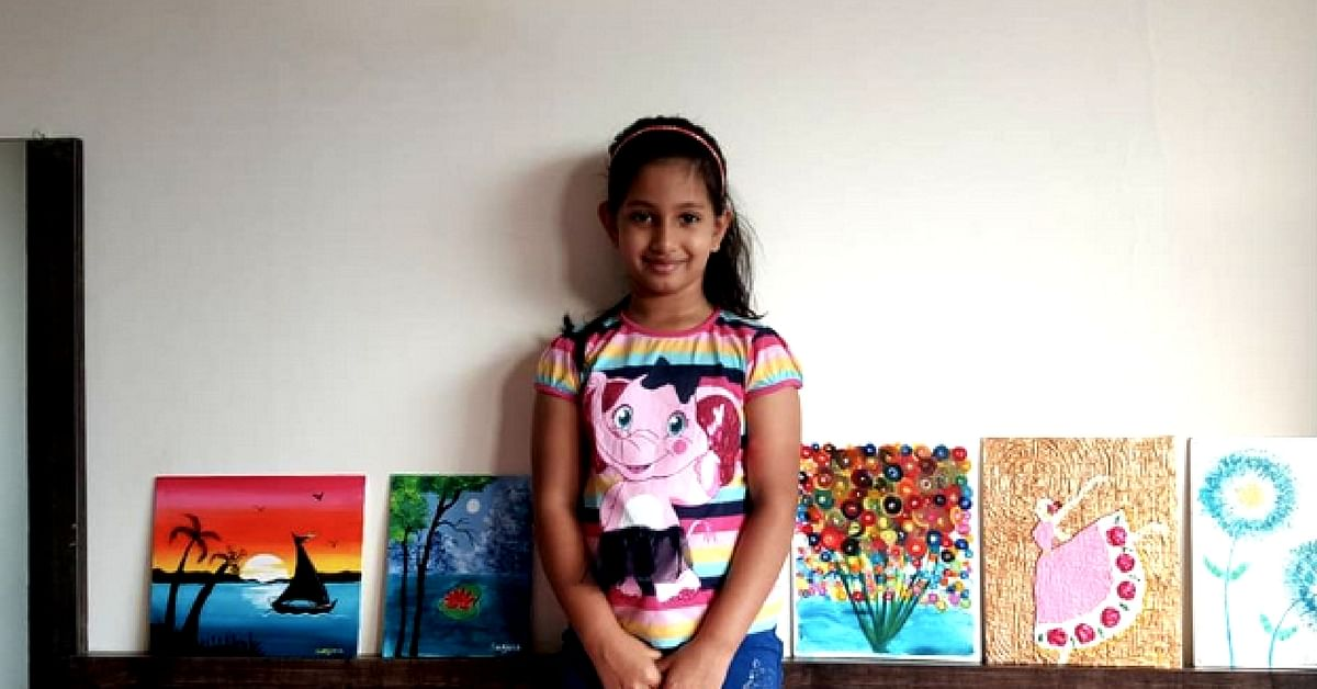 This 7-Year-Old Is Selling Her Beautiful Artwork to Fund Education for Poor Kids