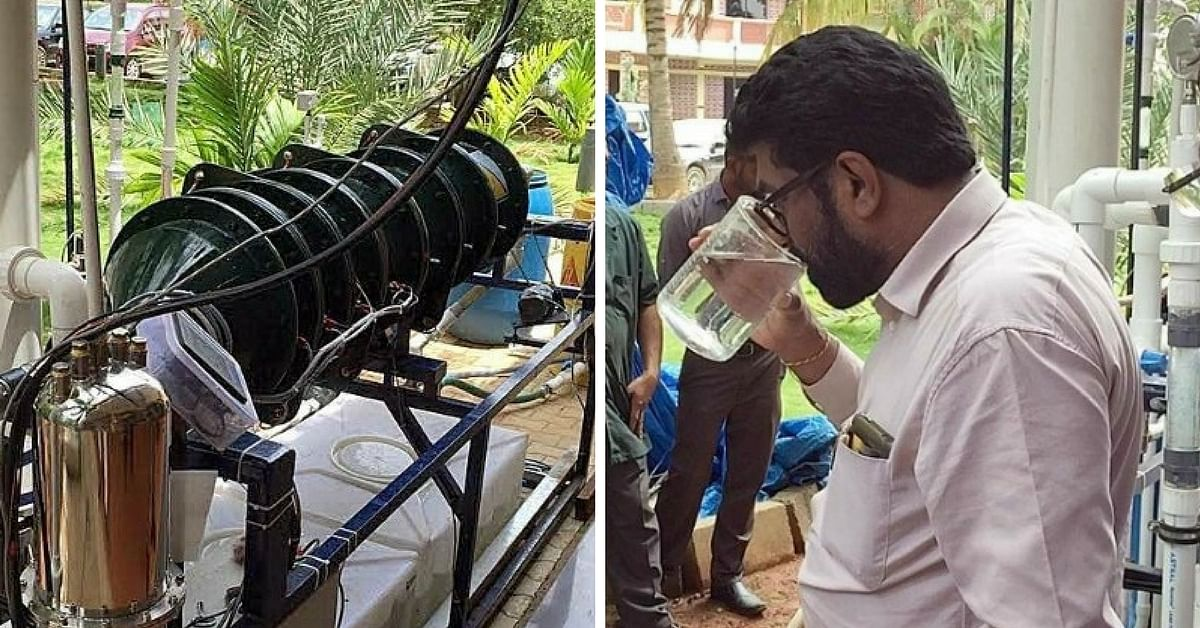 Clean Water out of Wastewater? This Bengaluru Scientist's Innovation Can Actually Do That!