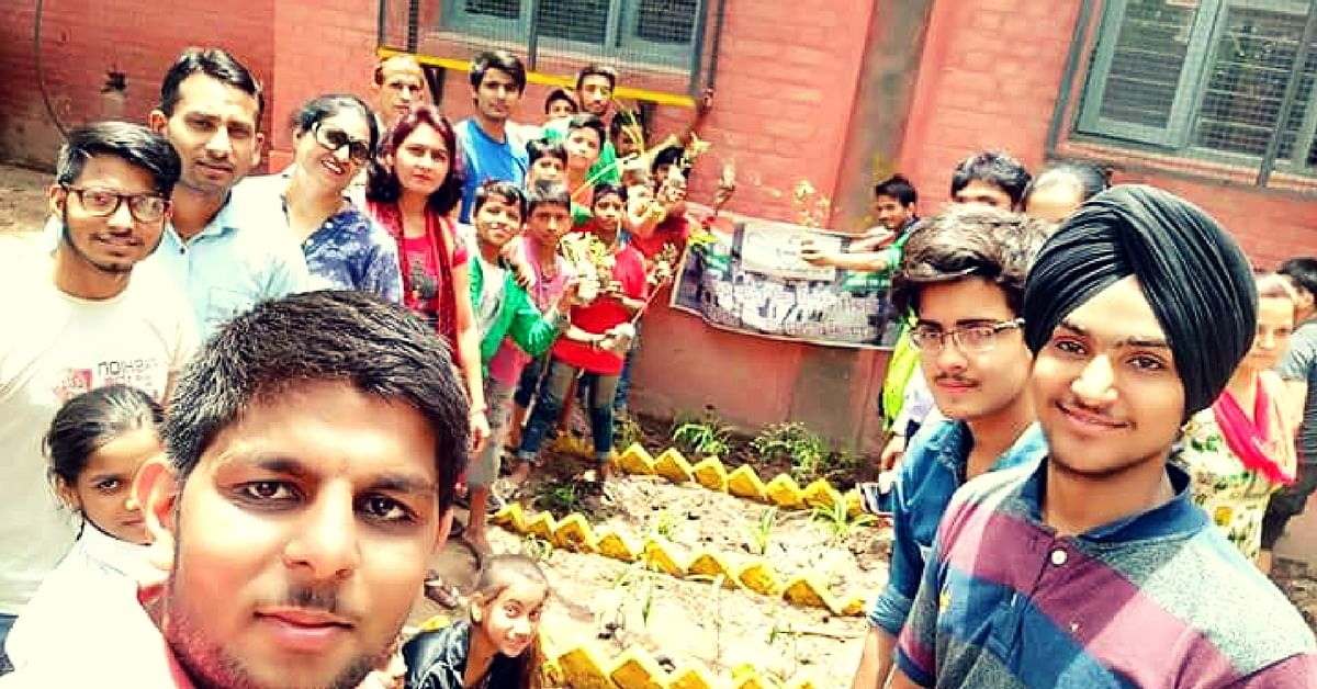 These Chandigarh Students Have Turned Their School Trash Into a Stunning Garden!