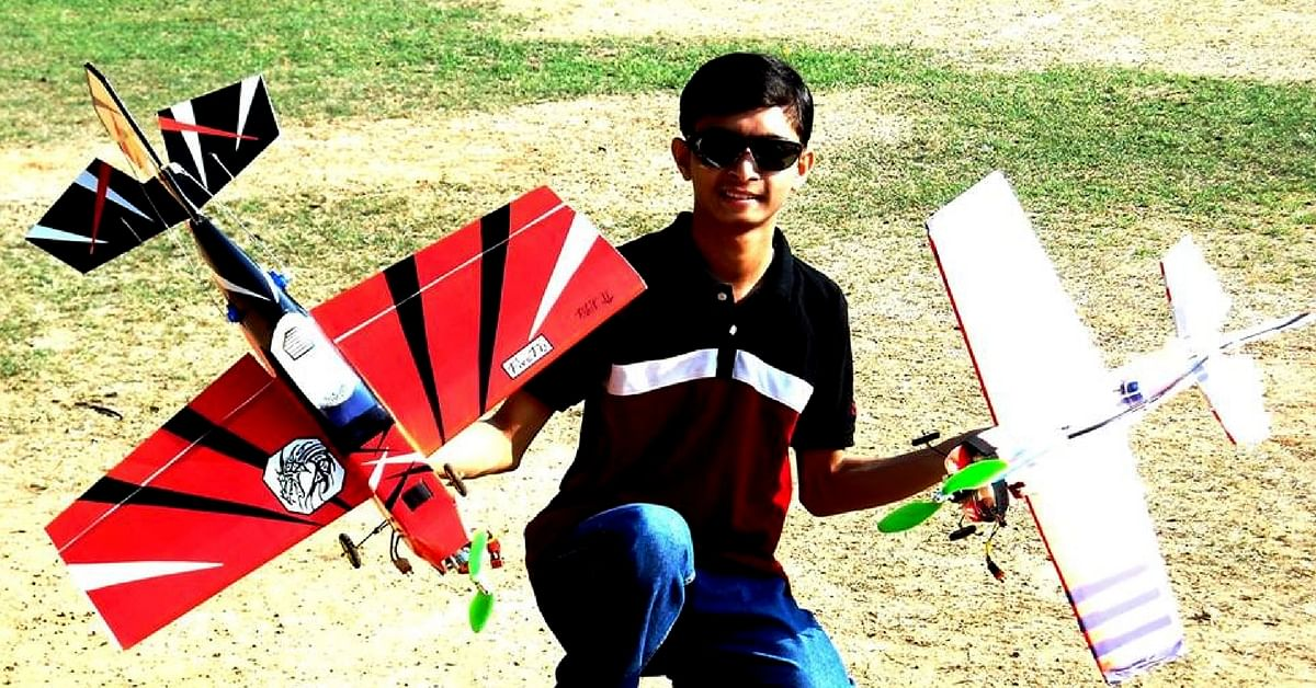 Meet the Young Bengaluru Student Scientist With the Coolest Job in Town, a Drone Tester!