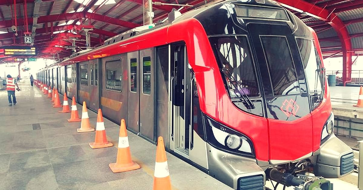Lucknow Metro Station Is Set to Become India's First to Provide Free Water & Toilet Facilities
