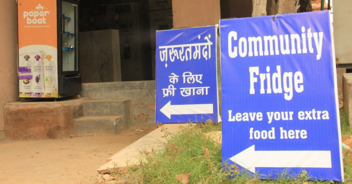 Gurugram Residents Are Using a 'Magic' Fridge to Fight Food Wastage & Hunger With Dignity