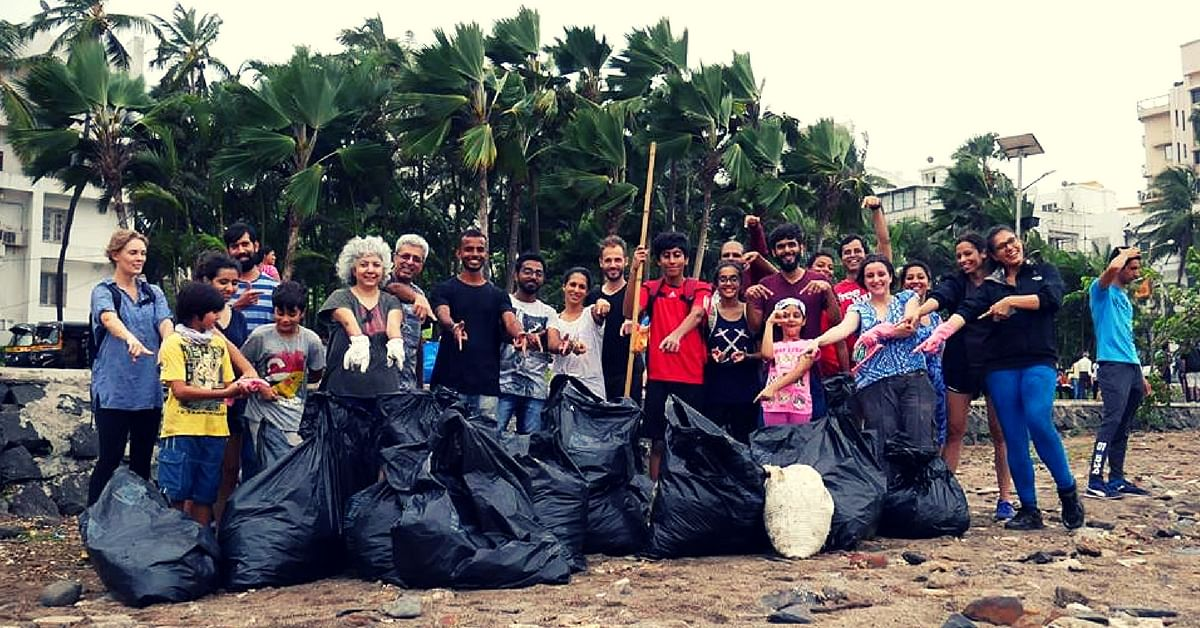 These Dedicated Residents Are on a Mission to Clean up Mumbai. Here's How You Can Get Involved!