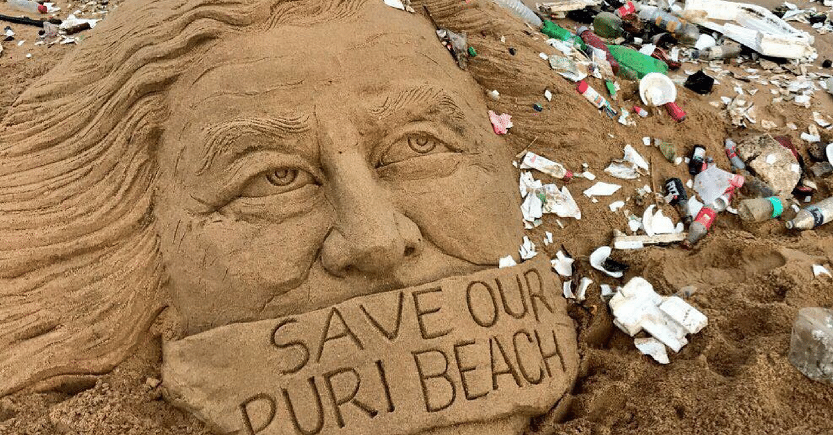 How World-Renowned Sand Artist Sudarsan Pattnaik Is Fighting to Save Puri's Beaches, His Canvas