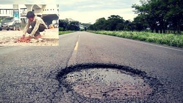 Why This 12-Year-Old Is Filling Potholes on the Streets of Hyderabad All by Himself!