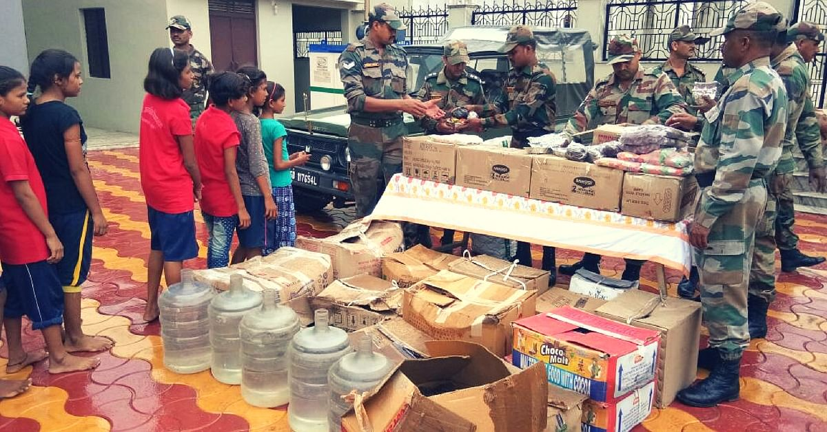 Army Rescues 519 Girls Stranded at a Flooded Hostel in Rajasthan's Jalore