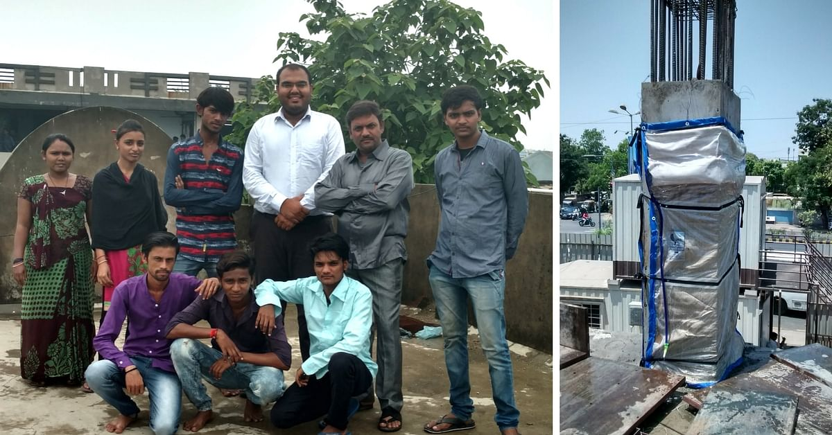 This Ahmedabad Startup's Concrete Curing Method Not Only Saves 80% Water but Energy & Time Too!
