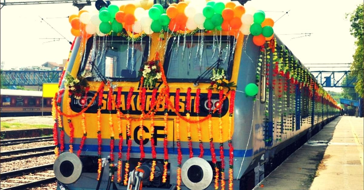 Indian Railways Goes Green With Its First-Ever Solar-Powered Train. Here's All You Need to Know