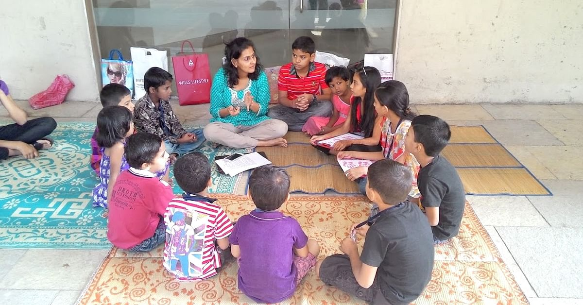 This Mumbai Society Is Bridging Gaps by Teaching Kids From Their Impoverished Neighbourhood