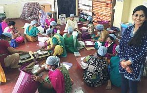 This woman was a pavement dweller, today she runs a sanitary pad manufacturing unit!