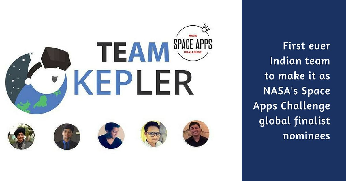 In a First, Indian Student Team Project Bags Second Position at NASA's Space App Challenge