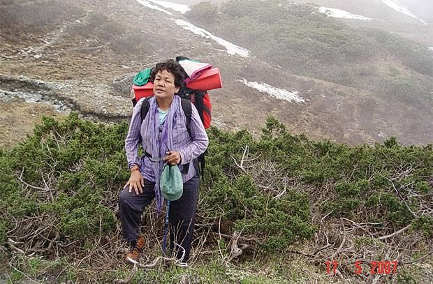 Bachendri Pal - first Indian woman - Mt Everest