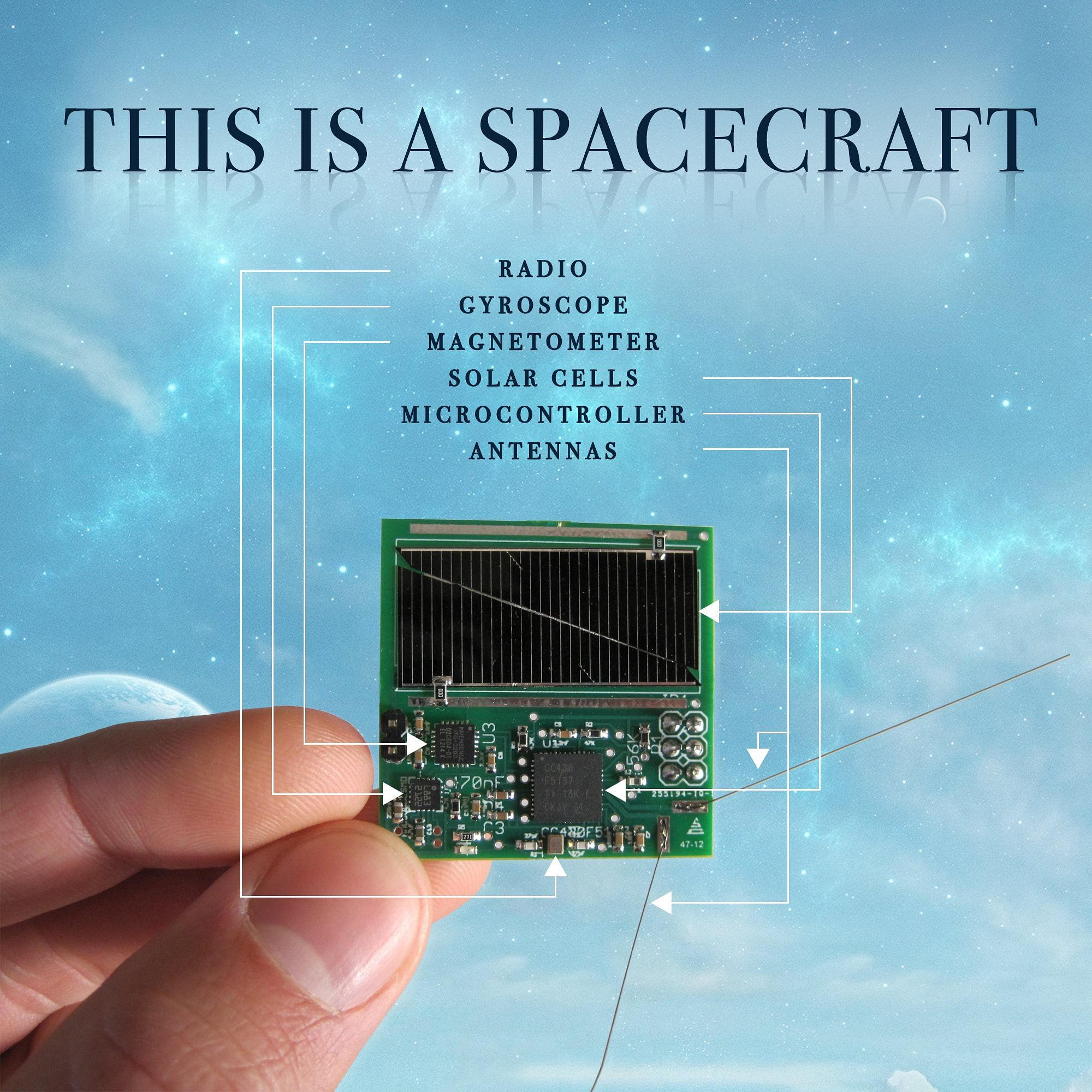 worlds smallest spacecraft sprites ISRO