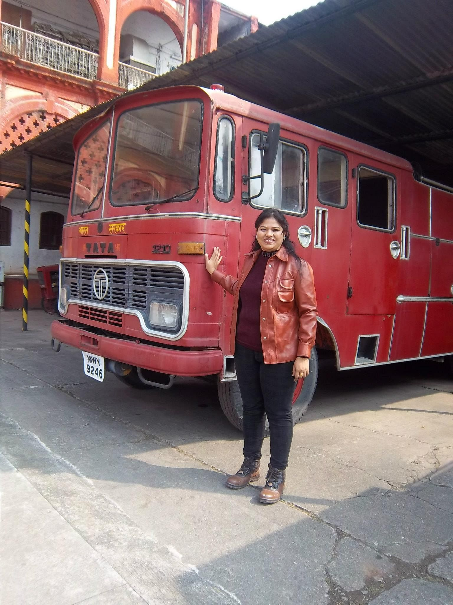India's First Woman Firefighter - Harshini Kanhekar