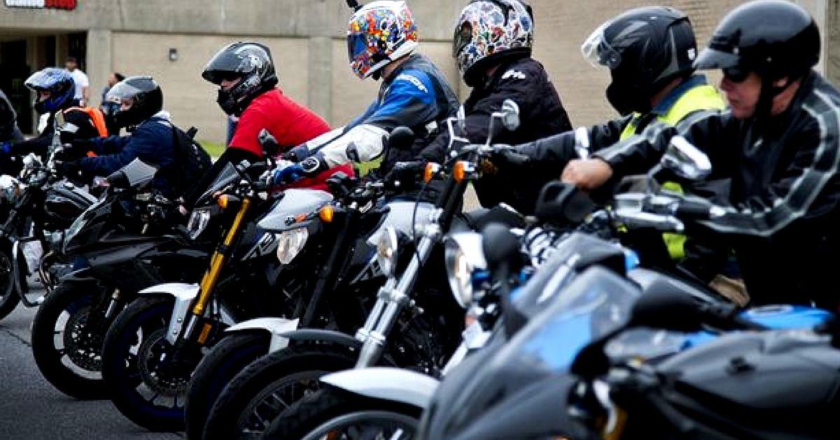 bikers woman being biker abducted delhi alert church should police cart