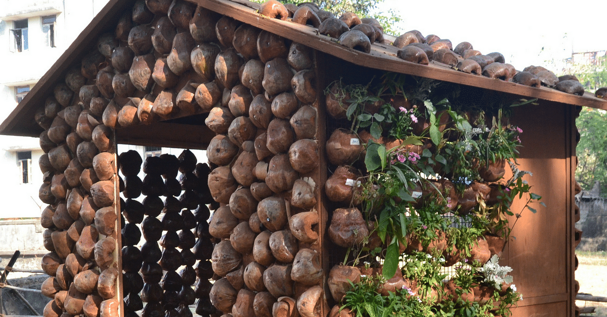 Can One Build a Low-Cost, Eco-Friendly House from Tender Coconut Shells? This Mumbai duo did it!