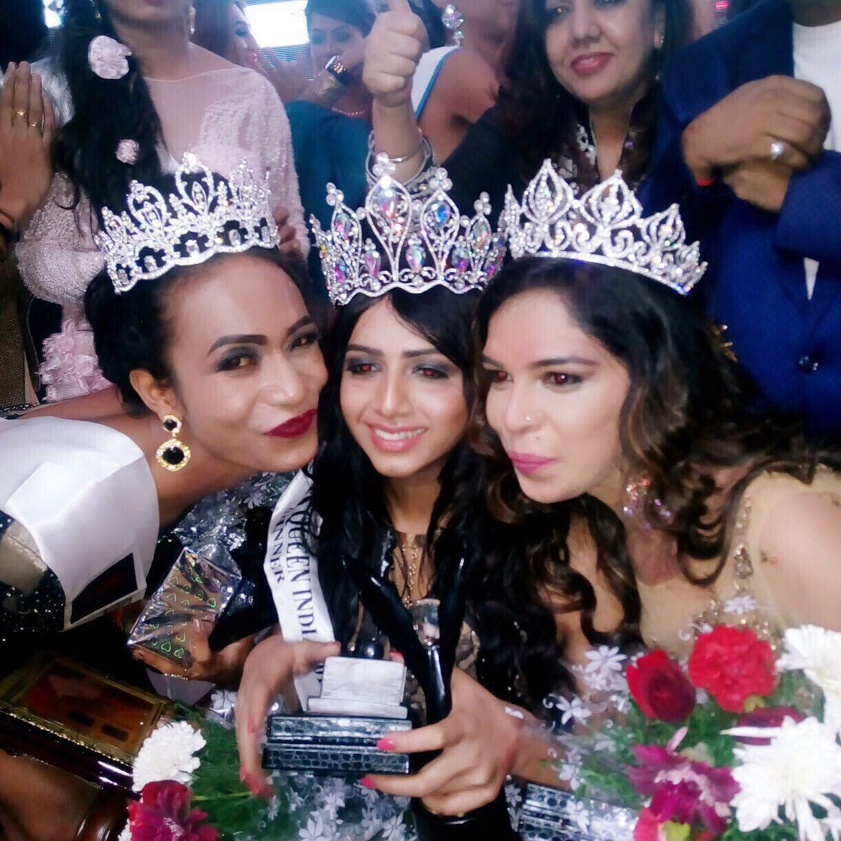 Nitasha Biswas is crowned as India's first trans Queen 2017