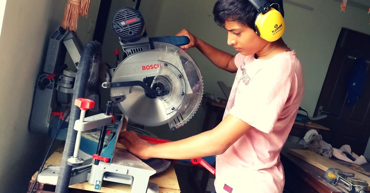 Labelled as 'Slow', This 15-Year-Old Is Now an Entrepreneur in Wooden Toys
