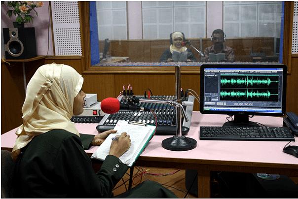 Radio program editing at Radio Mattolli
