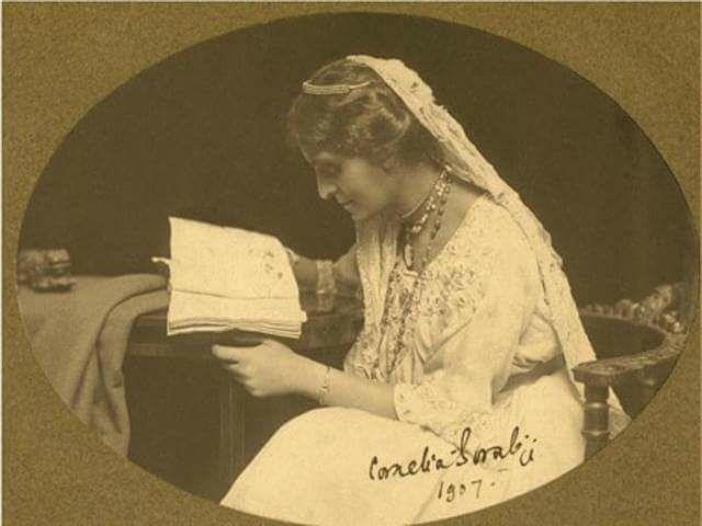 Cornelia Sorabji 1- कॉर्नेलिया सोराबजी