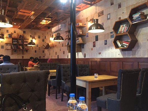 Image result for book and bricks cafe srinagar